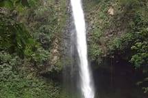 Waterfall up by Arenal Volcano..Great trip!