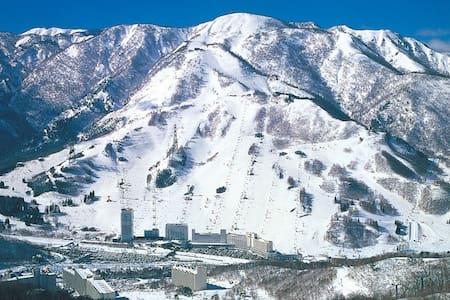 NAEBA SKI RESORT 3LDK CONDO  苗場スキーリゾート3LDKマンション  - Yuzawa