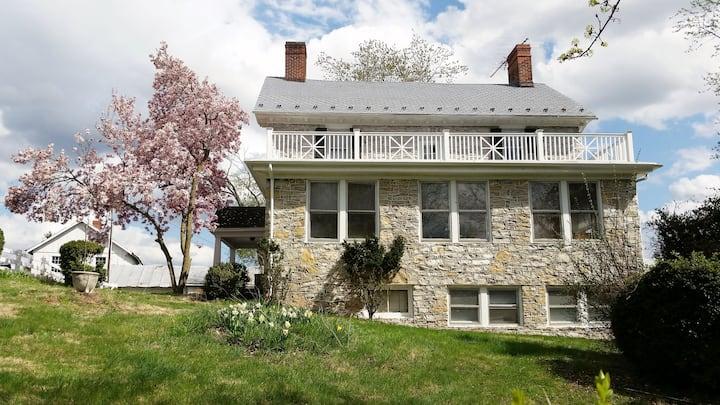 "Stone House Mansion (1757) -  ""Sleeping Porch"""