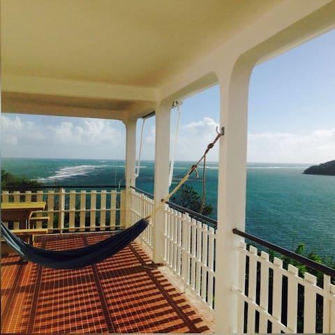 Villa 3 chambres avec vue panoramique sur mer - Le Vauclin - Dům