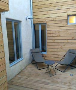 Charmant studio avec terrasse à 100m plage Fécamp - Fécamp - 公寓