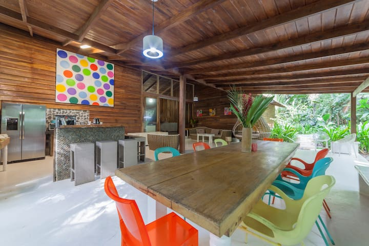 Beachfront Villa with Private Pool, Sleeps 16