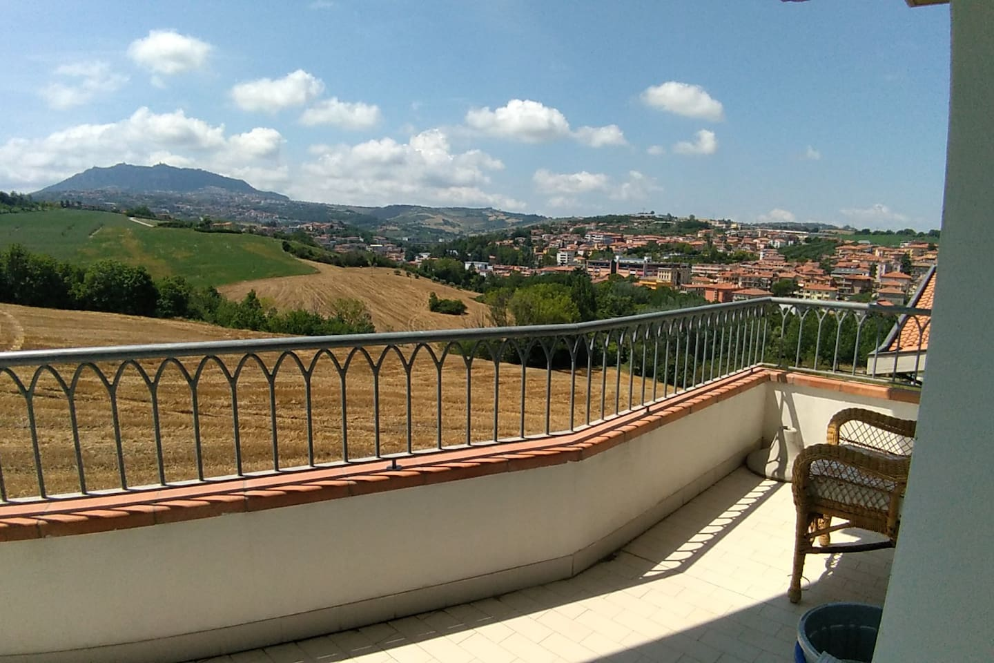 View from terrace of San Marino