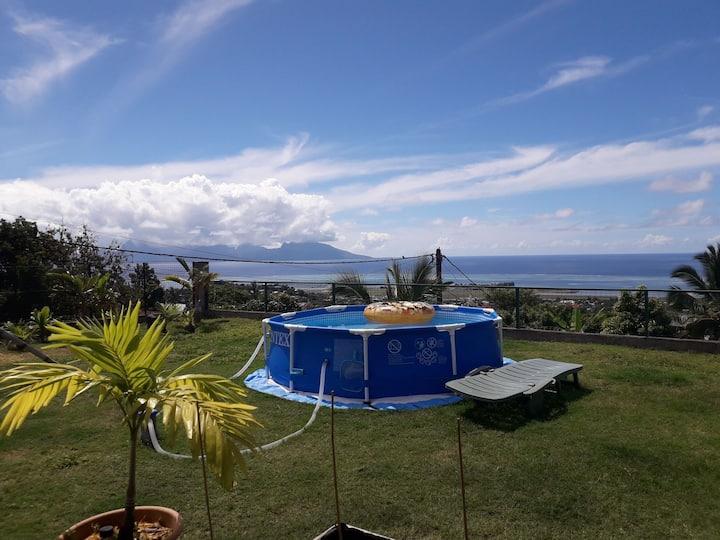 Villa avec vue sur le lagon & Moorea