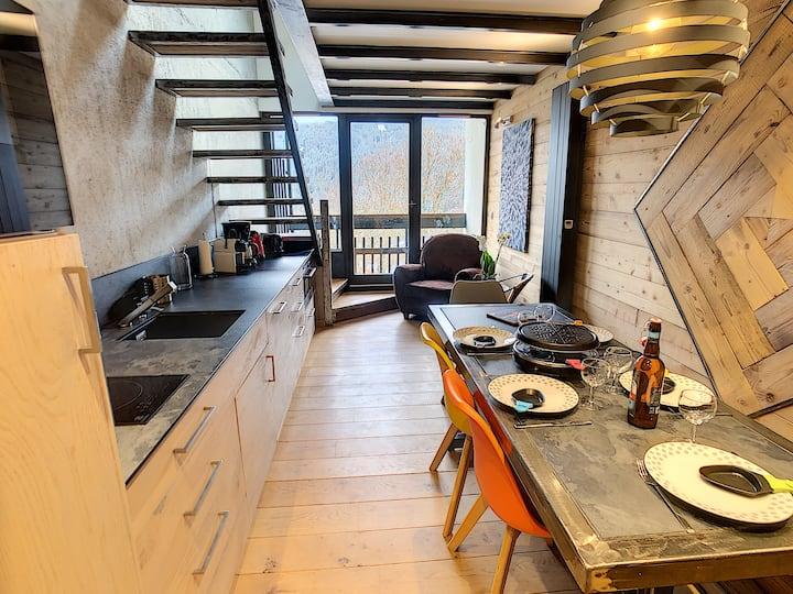 Appartement design, chaleureux et convivial 6 pers
