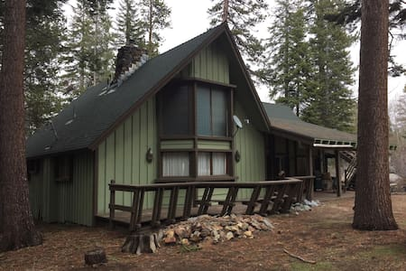 Huge Cabin in the Giant Sequoia's! - Ponderosa/Springville