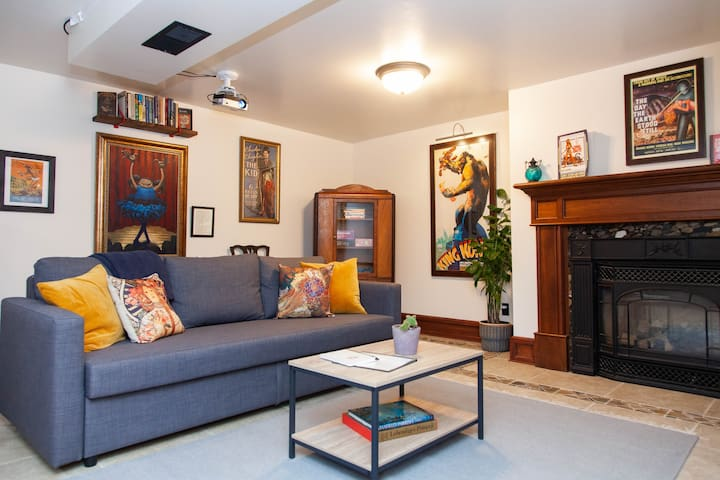 Irvington Lower Level Suite - Walker's Paradise!