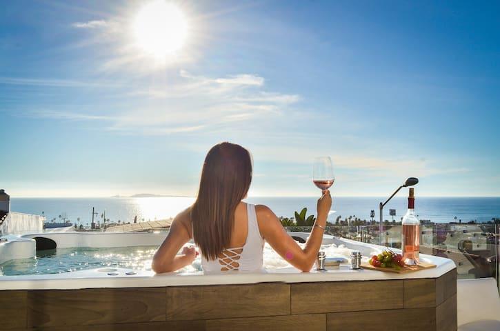 Jacuzzi Pool Spa Ocean View 4 bd 5 ba House