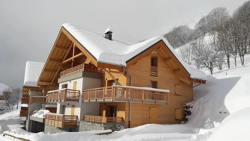 T2 cabine à Vaujany / Alpe d' Huez