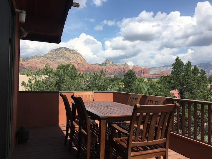 Experience Sedona with an Amazing View!!