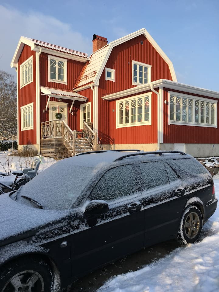 Newly renovated house 20 min from Stockholm City.