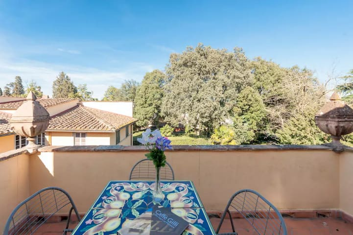 Boboli Garden Penthouse Apartment whit Terrace