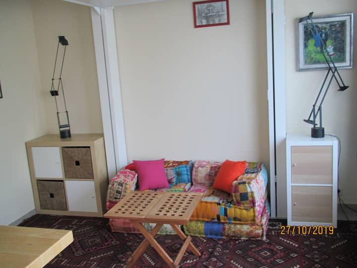 Foulka huisje met tuin en gratis fietsen