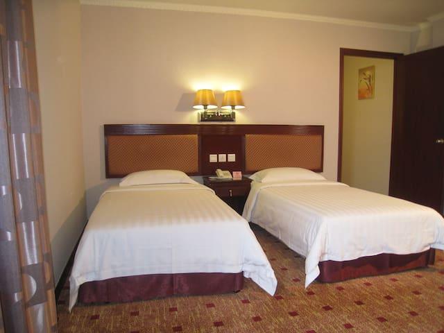 澳门东亚酒店(East Asia hotel)--精品酒店独立洗手间--标准双人房,近新马路近大三巴