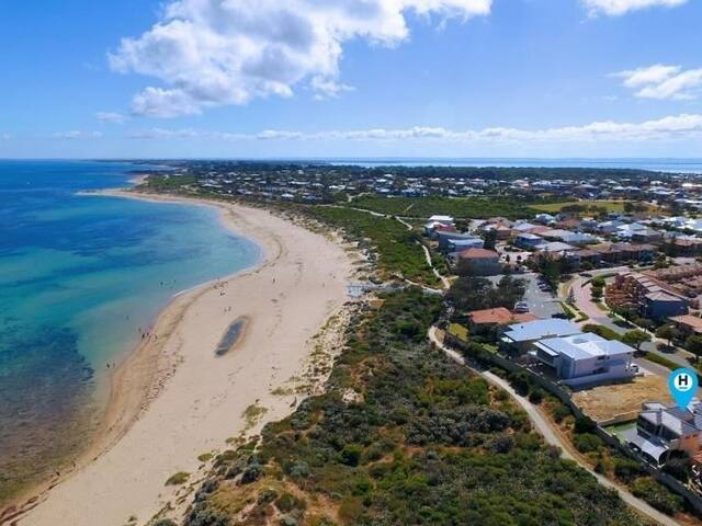 Beautiful home with views and walk to beach