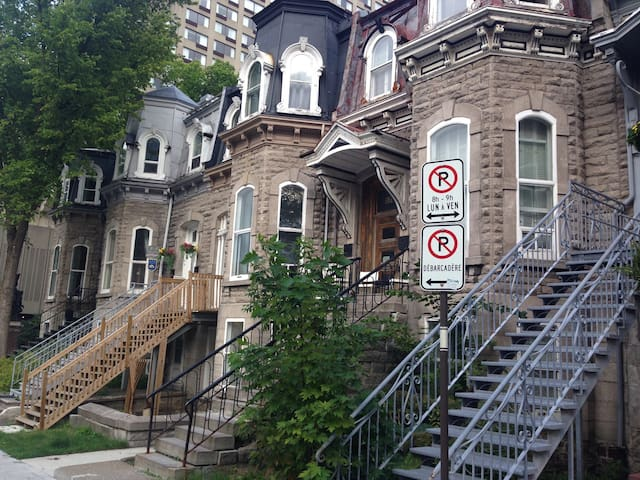 Un beau logement au vieux Quebec - Ville de Québec - Wohnung
