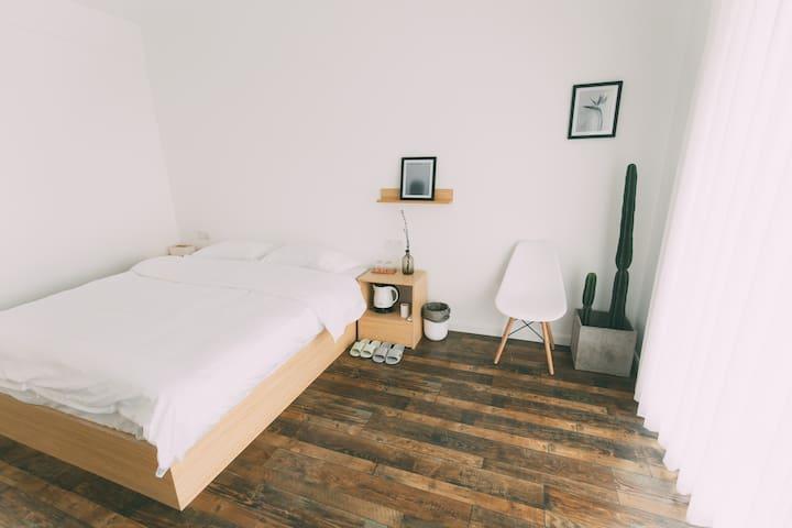 凳子民宿•Room04 北欧极简主义 茂名首家文艺民宿