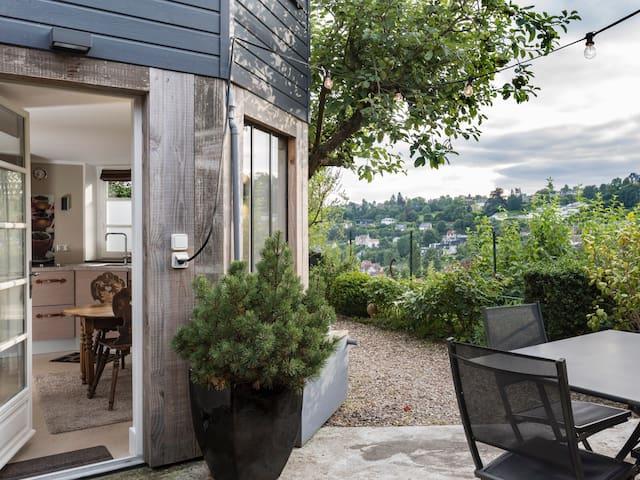 Superbe Studio DÉCO terrasse vue - Mont-Saint-Aignan - Apartemen