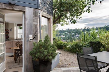 Superbe Studio DÉCO terrasse vue - Mont-Saint-Aignan - Wohnung