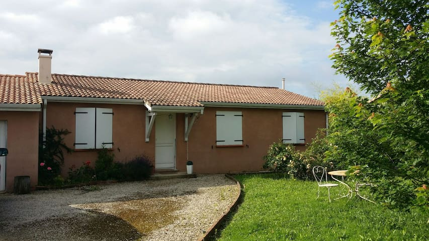 Maison calme proche de Toulouse - Meauzac - บ้าน