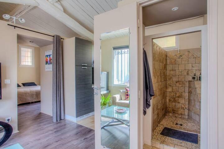 Joli loft avec piscine entre mer et montagne - Saint-Martin-du-Var - Casa