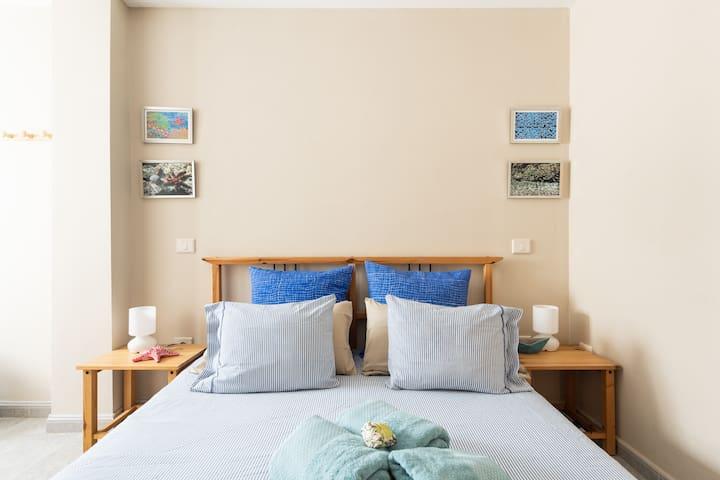 Cozy, spacious and comfortable bedroom.
