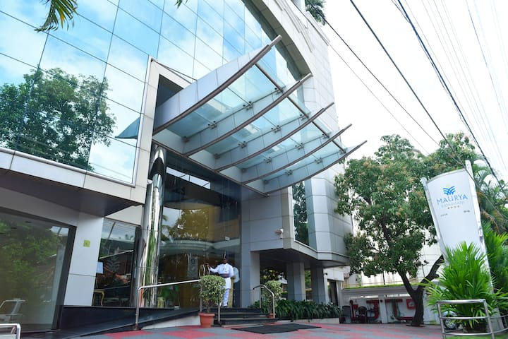 Maurya Rajadhani 4 star business class Hotel
