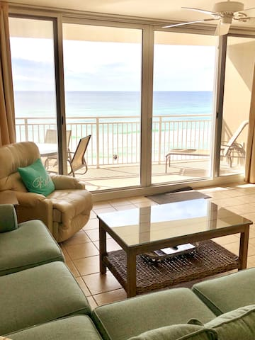 GULF FRONT*5th Floor*FREE CHAIR SERVICE*New Decor!