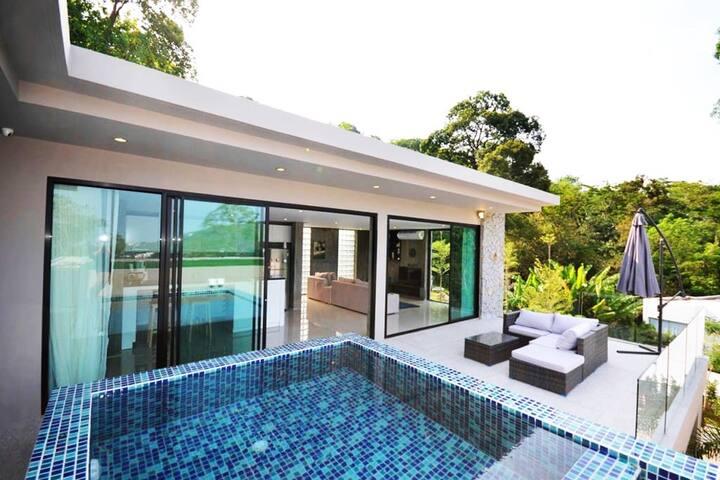Modern 2 Bedroom Villa near Kamala Beach