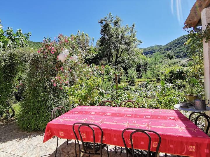 Maison avec jardin de 900m²  5min de Saint-Girons