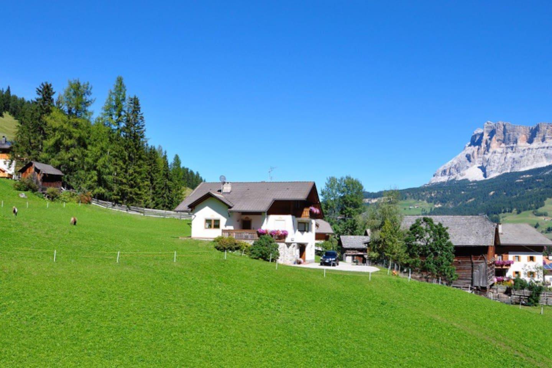 Summer Panorama Apartments Fisti in Alta Badia - Dolomites