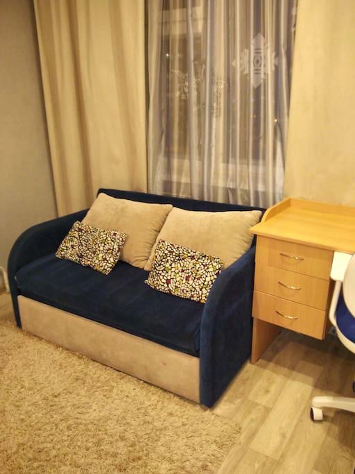 1 спальня