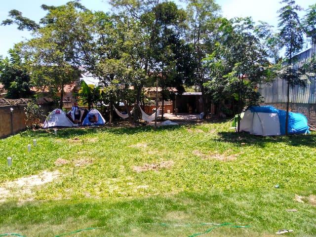 Barraca em Camping Rosa Surf Hostel Praia do Rosa
