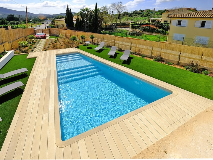Villa Can Benet de sa Cubana, inviting SPA house in charming Calvia village