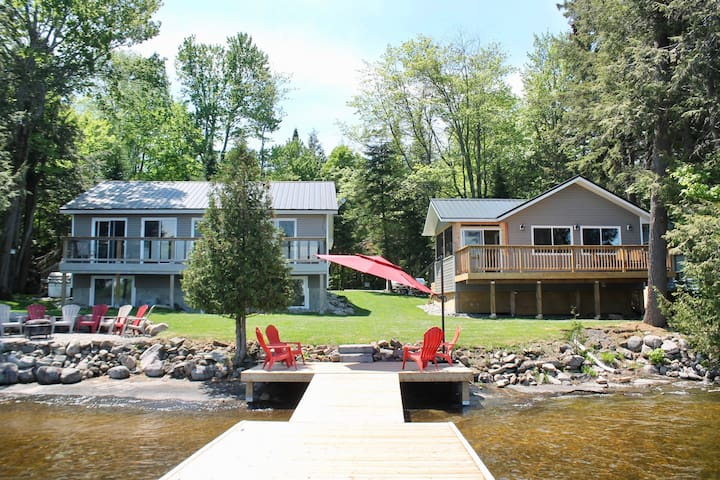 2 stunning Lakefront cottages on Lake Muskoka