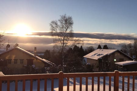 Winter vacation in Jura Mountains! - Gex - 別荘