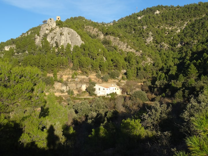 Beautiful masía in the moutains