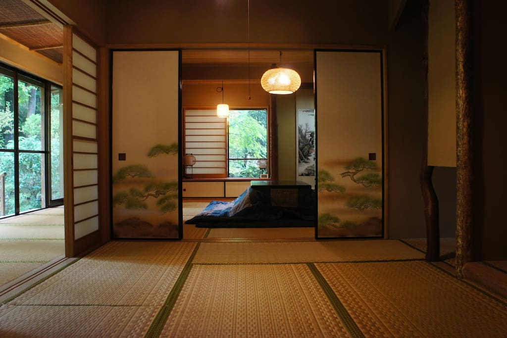 Hakone Villa With Private Onsen Ryokan Style Houses For