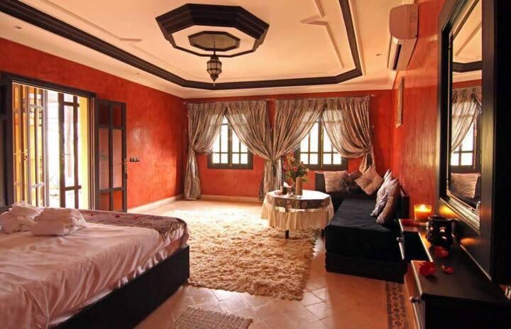 TN Qasbah Dream Ourika,villa style Riadd