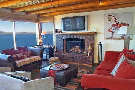 Espectacular vista al Lago Nahuel Huapi - San Carlos de Bariloche - House