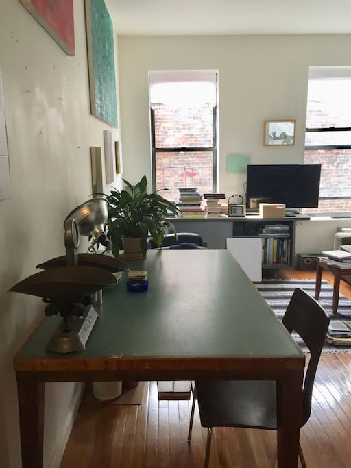 Living room dining table/desk