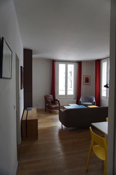 Appartement atypique bastille gare de lyon appartements for Appartement atypique