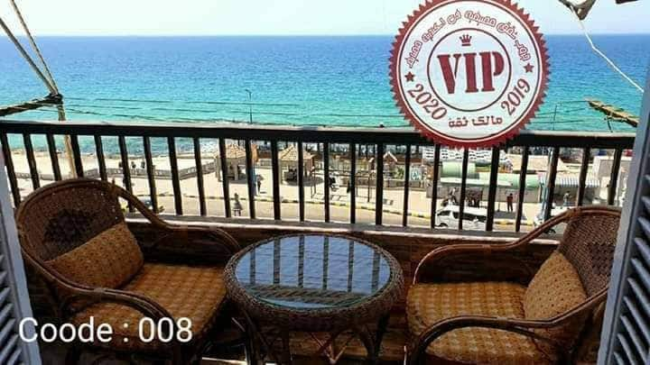 Sea view in the middle of alexandria