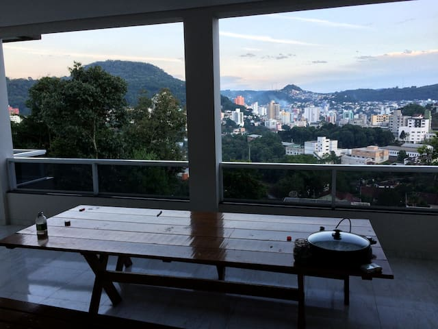 Casa com uma vista linda de Joaçaba - Joaçaba