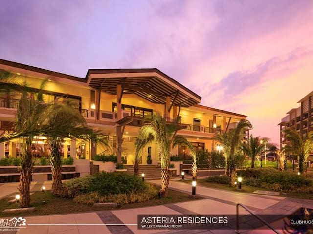 The Clubhouse view during Sunset
