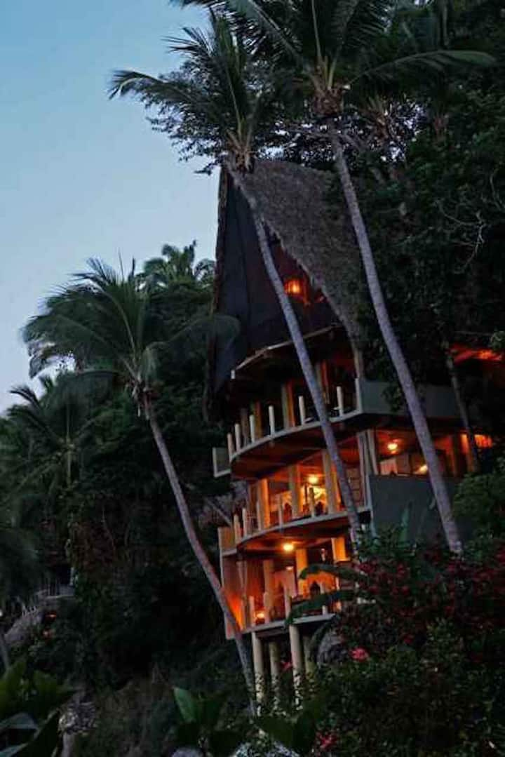 The 3 level Penthouse  - The Best house in Yelapa!