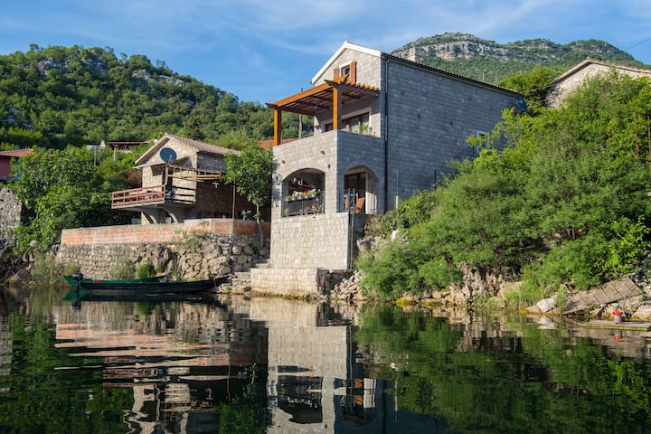 """Paradise House"" at National Park Skadar Lake"