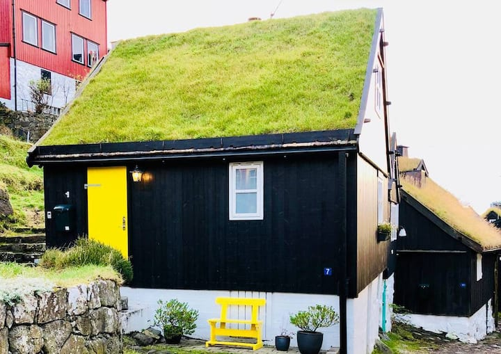 Authentic Faroese House - In centrum of Tórshavn.