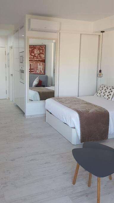 cama de matrimonio 1,35 cm