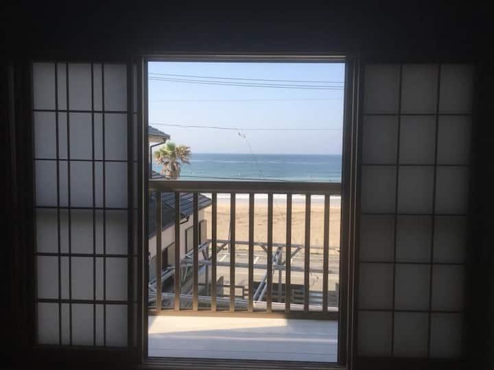 海辺の和室 1部屋1人利用 surf Inn iwada beach